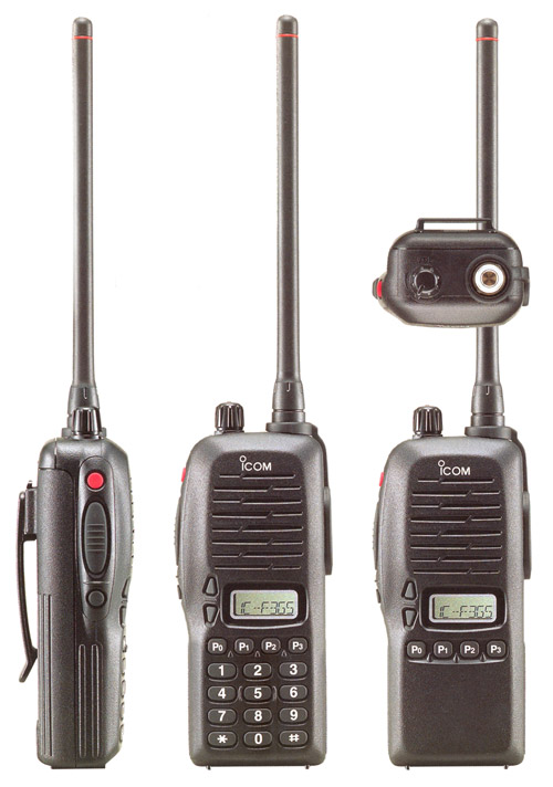 Icom IC-F3GT, IC-F3GS, IC-F4GT and IC-F4GS