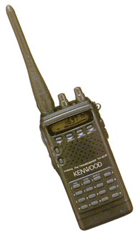 Ручная FM-радиостанция Kenwood TH-22AT/42AT